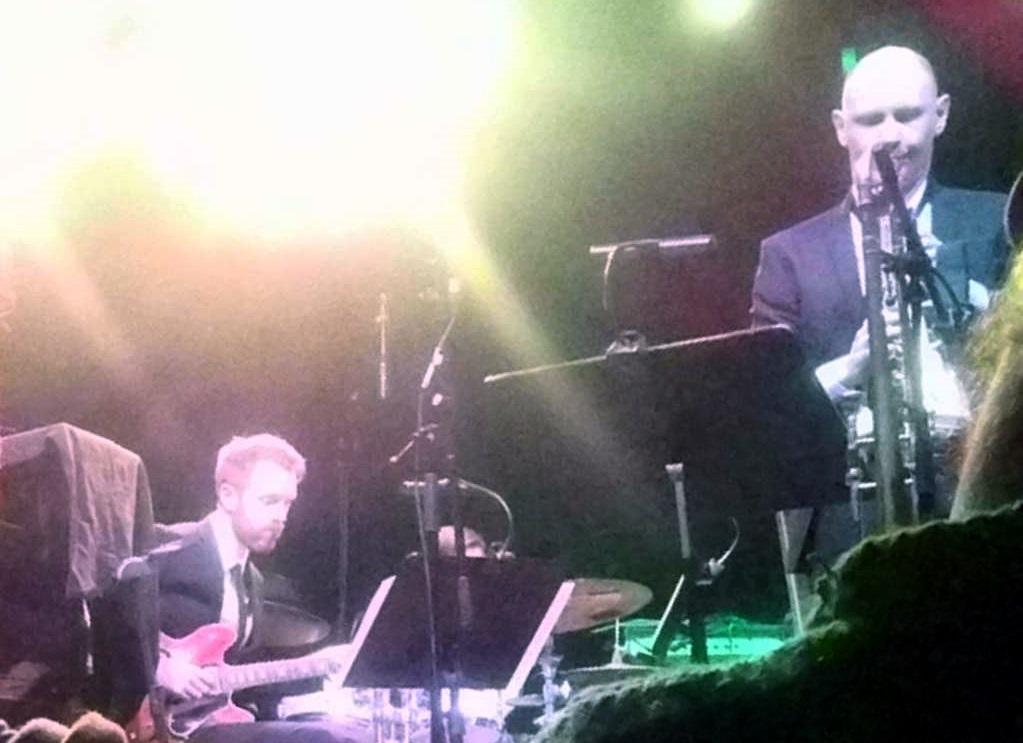 Aarhus Jazz Orchestra feat. Jim Black, Skulí Sverrisson and Helge Sunde - 2017-02-21 Aarhus